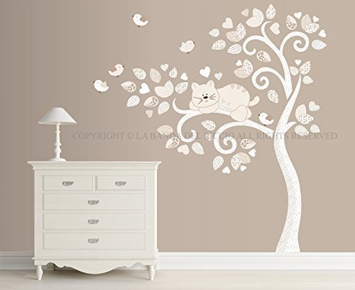 adesivi murali bambini  Adesivi murali bambini Wall decals Baby Wall stickers Albero ...