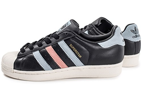 adidas Superstar Cuir Core Black Noir 41
