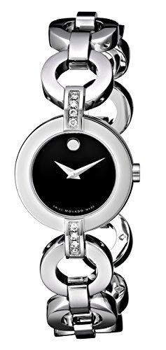 Movado Women s 606263 Belamoda Stainless Steel Bracelet Watch