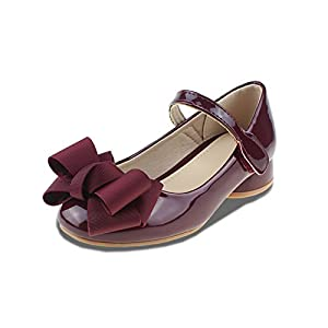 Chiximaxu Maxu Girl's Sandals Mary Jane Shoes Bowknot(Toddler/Little Kid/Big Kid)