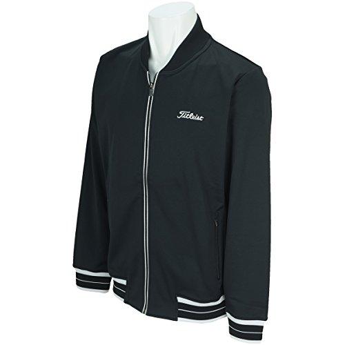 タイトリスト TITLEIST アウター(ブルゾン、ウインド、ジャケット) ストレッチトラックジャケット TWMO1720 ブラック L