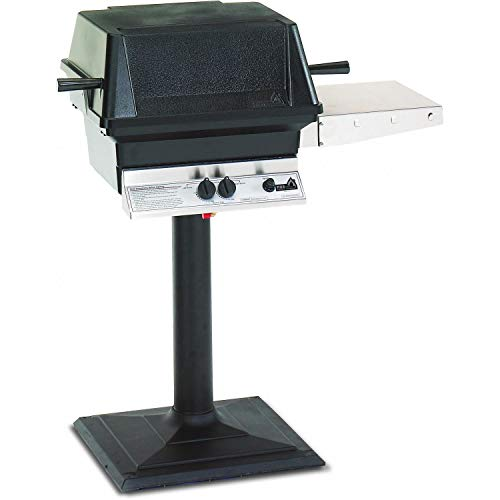 Pgs A30 Cast Aluminum Natural Gas Grill On Bolt-down Patio Post
