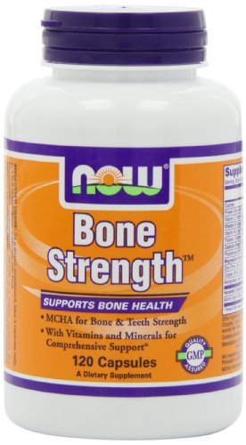 NOW Bone Strength Capsules Pack product image
