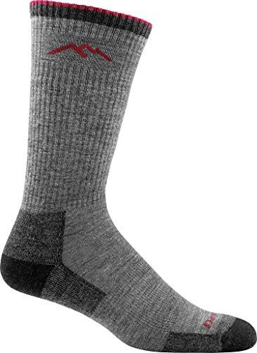 Darn Tough Vermont Men's Hiker Merino Wool Boot Socks Cushion Charcoal Large