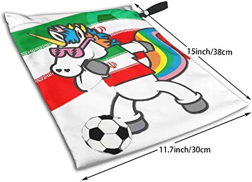 Wet Soccer Ball Sports Bag