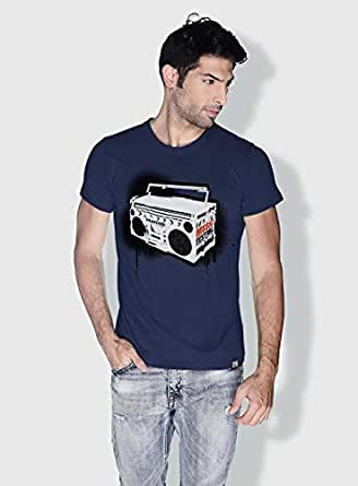 Creo Music Radio Trendy T-Shirts For Men - Xl, Blue