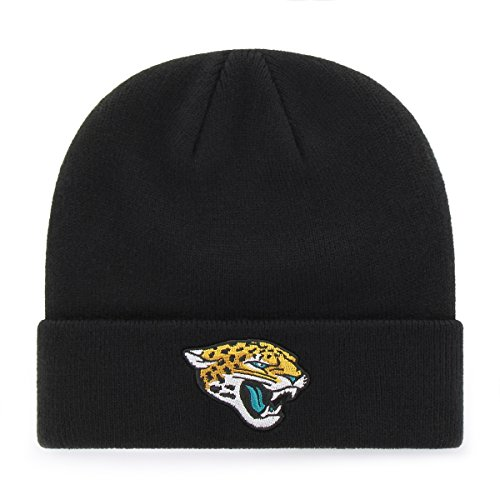 OTS NFL Youth  Jacksonville Jaguars Raised Cuff Knit Cap, Youth , Black