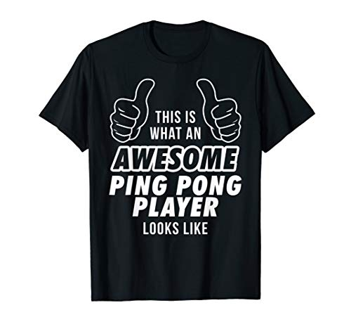 Awesome PING PONG PLAYER Profession Career T Shirt ()