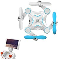 PowPro Cair PP-MS1 Mini Foldable RC Drone FPV VR Wifi RC Quadcopter Remote Control Drone with HD 720P Camera RC Helicopter
