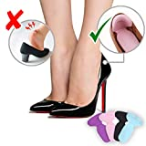 Wffo 1 Pair High Heel Shoes Pad Super Soft Insoles Comfortable Feet Cushion Protector Care-Heel Cushion Inserts Shoe Pads for Women (A)