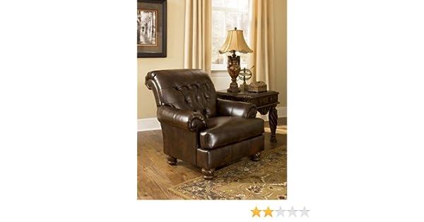 Awe Inspiring Amazon Com Fresco Durablend Antique Accent Chair 6310021 Creativecarmelina Interior Chair Design Creativecarmelinacom