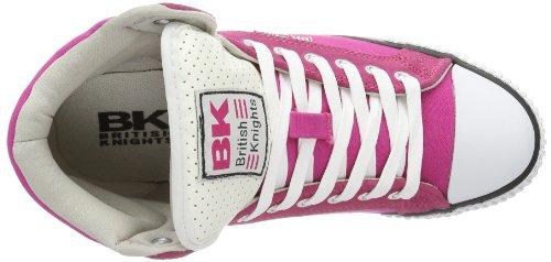 British Knights Dee - Pantuflas de caña alta Mujer Rosa (Pink (fuchsia/black 1))