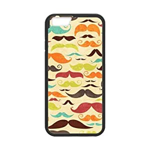 Colorful Mustache Case for iPhone 6