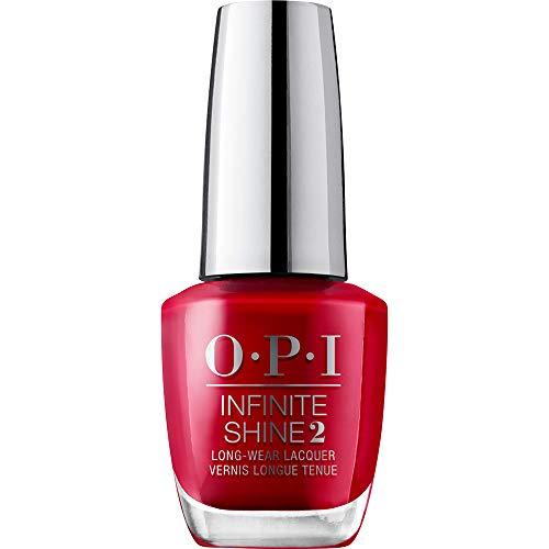 OPI Infinite Shine, So Hot It Berns