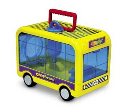 Kaytee Small Animal Critter Trail Off To School Habitat, Colors (Hamster Cages Super Pet)