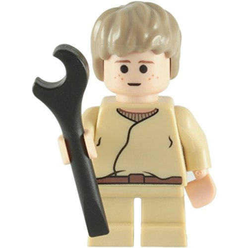 Lego Star Wars Anakin Skywalker Child Minifigure with Spanner