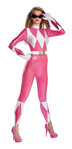 Pink Ranger Sassy Bodysuit Costume - Medium - Dress Size 8-10