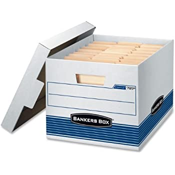 Amazon Com Bankers Box Stor File Storage Box With Lift