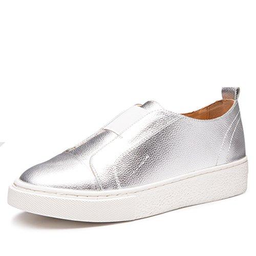 Zapatos Primavera De Moda Aire Le Fu zapatos C Cabeza zapatos Casuales Gruesa zapatos Suela escuela Coreano rqgwStdfr