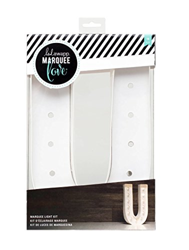 (American Crafts 312420 Heidi Swapp Marquee Love Letter U 12
