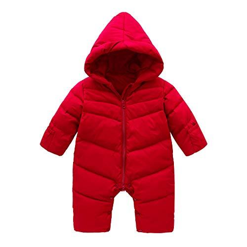 Cnajii Baby Infant Boy Girl Winter Down Snowsuit