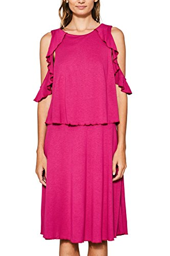 edc by Esprit, Robe Femme Rose (Dark Pink 650)
