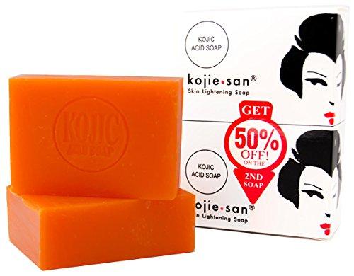 Kojie San Skin Lightening Kojic Acid Soap, 135g, 2 Piece