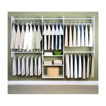 Easy Track RB1460 4 To 8 Foot Deluxe Tower Closet, White