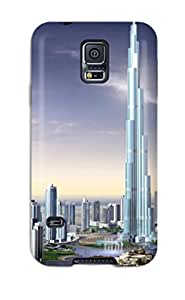 Anne C. Flores's Shop Lovers Gifts Premium Tpu Dubai City Cover Skin For Galaxy S5