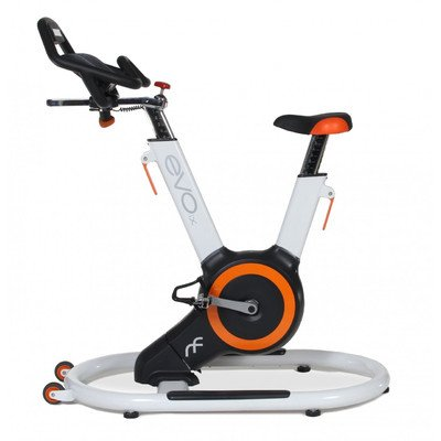EVO IX Fitness Indoor Bike with Sway Frame and Orb Gear, White/Orange Everyoung Health and Fitness, Inc.