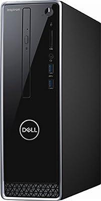 Dell Inspiron i3650 High Performance Desktop Computer, Intel Pentium G4400 3.3GHz, 8GB DDR3, 1TB HDD, DVD, WIFI, BLUETOOTH, Windows 10 Professional (No Monitor Included)