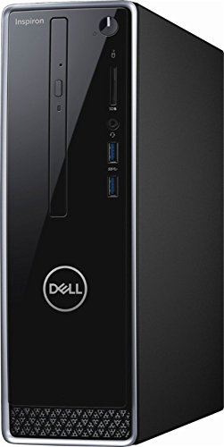 2018 NEWEST Dell Inspiron Mini Desktop, Intel Quad Core i3-8100 3.6GHz, 8GB DDR4 RAM, 1TB HDD, Intel HD Graphics 630, WiFi, Bluetooth, DVD-RW, USB 3.0, HDMI, VGA, Included Mouse & Keyboard, Windows 10