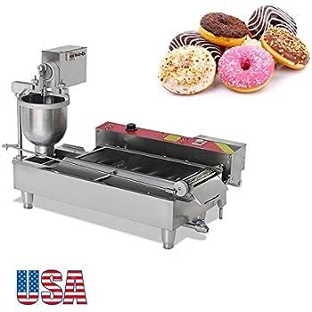 Admirable Amazon Com Ridgeyard Stainless Steel Commercial Donut Maker 3Kw Wiring Cloud Peadfoxcilixyz