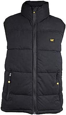 Caterpillar C430 Unisex Mens Ladies Warm Insulated Sport Body Warmer Gilet Black