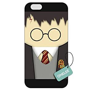 Onelee(TM) - Customized Harry Potter iPhone 6 Plus 5.5 Hard Plastic case cover - Black 09