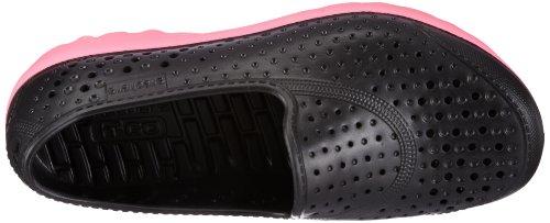 Skechers Flickor H2 Gå Waterlillys Halka På Gång Skor Svart / Hot Pink