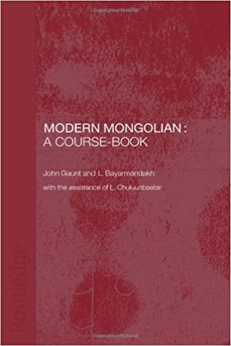 Book Modern Mongolian: A Course-Book