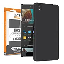 Orzly® - Exec-Armour Hard Case BLACK Shell for OnePlus X SmartPhone (OxygenOS UI Version - Dual SIM 2015 Model)