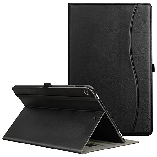 Ztotop Folio Case for All-New Fire HD 10 Tablet (2017 Release, 2th Generation) - Smart Cover Slim Folding Stand Case with Auto Wake / Sleep for All-New Fire HD 10 Tablet,Black