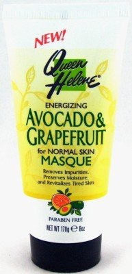 (Queen Helene Avocado & Grapefruit Facial Masque 6 oz. (3-Pack) with Free Nail)