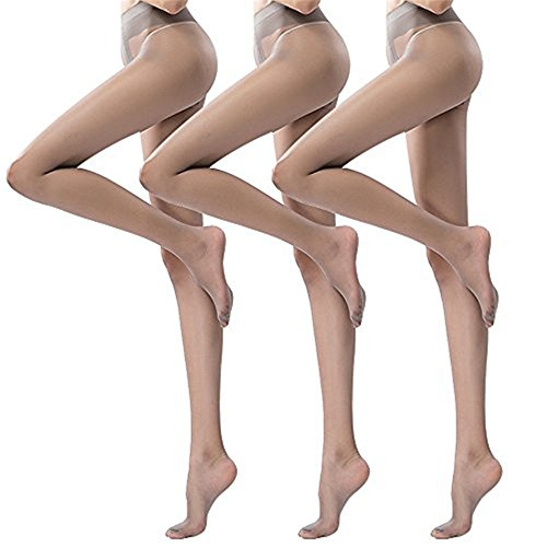 2191529a7 Pantyhose For Women T Crotch 5 Denier Autumn Tights Smooth 3 Pairs summer  ultra-thin