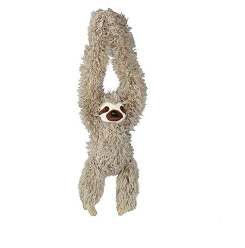 Wild Republic Hanging Three Toed Sloth Plush, Stuffed Animal, Plush Toy, Gifts for Kids, Zoo Animals, 30 inches from Wild Republic