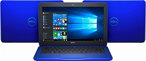 Newest Dell Inspiron 11.6 inch HD (1366 x 768) WLED Backlit Display Laptop PC | Intel Celeron N3060 | 4GB DDR3L | 32GB eMMC | HDMI | Bluetooth | 802.11ac WIFI | Up to 9.5h Battery Life | Windows 10 by Dell (Image #1)