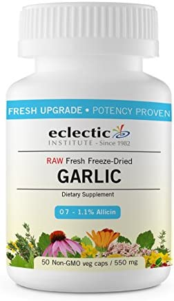 Eclectic Garlic 550 Mg Cog Fduv