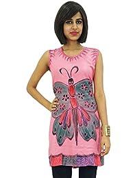 Casual Beach Dress Butterfly Embroidered Short Women Summer Sundress