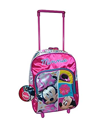 556cba147a9 Sambro Minnie Mouse Backpack Trolley (Medium)  Amazon.co.uk  Toys ...
