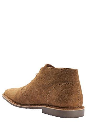 next Hombre Con Cordones Formales Zapatos Botas Botines Desert Chukka De Ante Jengibre