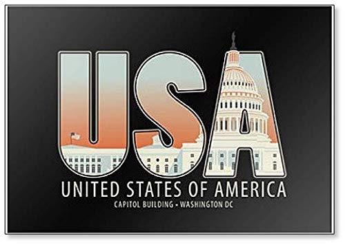 USA Capitol Building Washington DC Classic Fridge Magnet