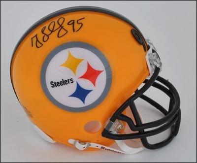Signed Greg Lloyd Mini Helmet - 75th Anniversary - Autograph
