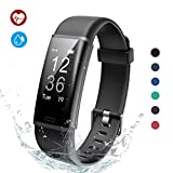 Lintelek Fitness Tracker, Fitness Tracker Smart Watch Pedometer, Activity Tracker with Heart Rate Monitor, 14 Sports Modes, Step Counter for Kids, Men and Women